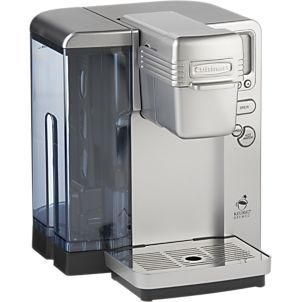 Cuisinart® Single Serve Coffee Maker in Coffee Makers   Crate and Barrel, $199.95
