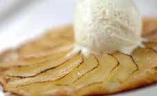 Recept dessert met peren uit de stoomoven van AEG