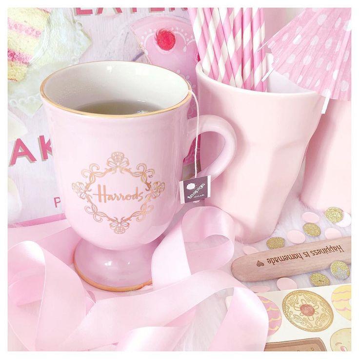 Pink Harrods Mug  www.lovecatherine.co.uk www.instagram.com/catherine.mw