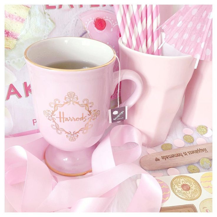 Pink Harrods Mug  www.lovecatherine.co.uk www.instagram.com/catherine.mw