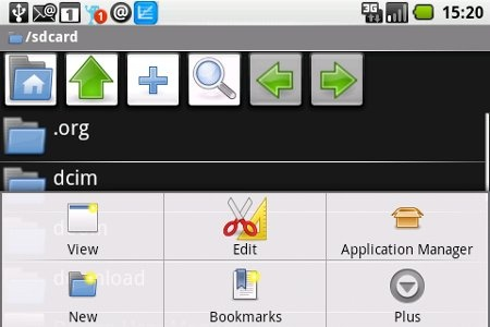 ASTRO File Manager (Android, FREE) is a massively popular (+ 20 million downloads and a 4.5 star rating) File Manager. It lets you download any file with browser and then browse, create, extract zip files, Back up and restore public applications to the SD card, Create shortcuts, Send files as attachments, Thumbnails, Multiselect, Search, Image, Text, HTML Viewers.