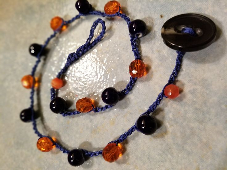 UVA- Game Day Necklace