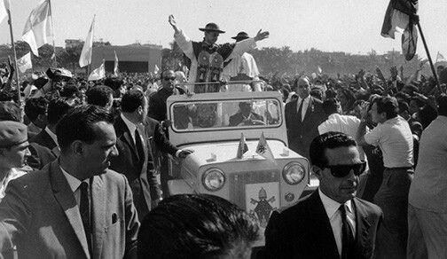 Jeep Willys India Pablo VI 1960