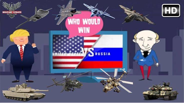 Russia vs The United States : Who Would Win - Military Comparison 2017 HD
