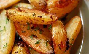Πατάτες λεμονάτες στο φούρνο