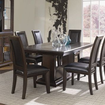 Picture Of Najarian Furniture Brentwood Formal Dining Table Naj Tables