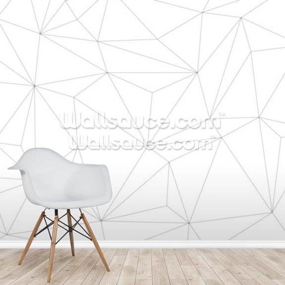 Vector Geometric Background With Triangles Black And White Geometric Background Wallsauce Uk Geometric Background Wall Murals Wall Wallpaper