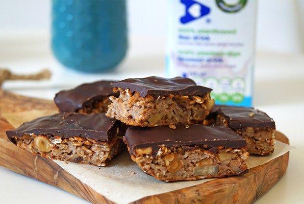 glutenvrije repen met noten en chocolade