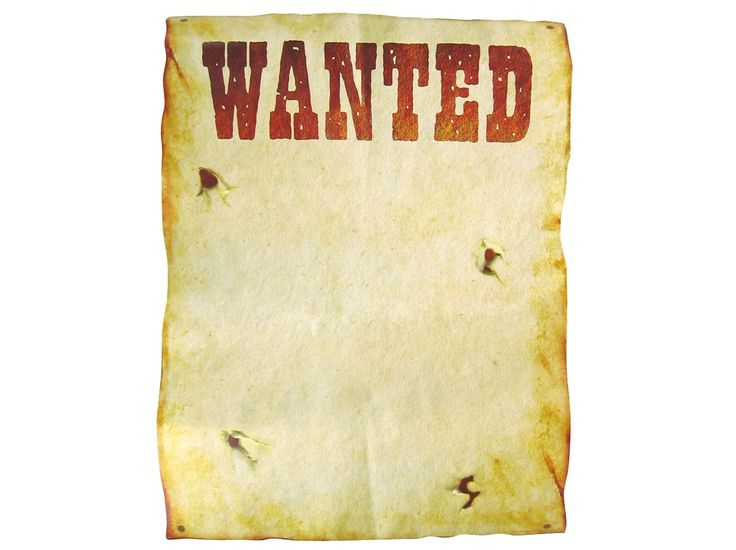 Free Printable Western Wanted Posters Themed Parties \ Solid - create a wanted poster free