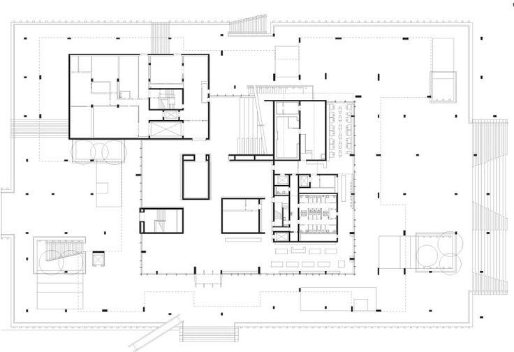 Herzog Amp De Meuron P 233 Rez Art Museum Plans Architecture