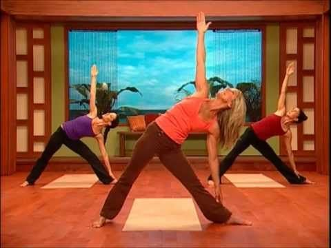 Denise Austin Yoga Body Burn - 50-minute Exercise Video