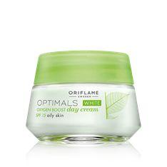 White Oxygen Boost Day Cream SPF 15 Oily Skin