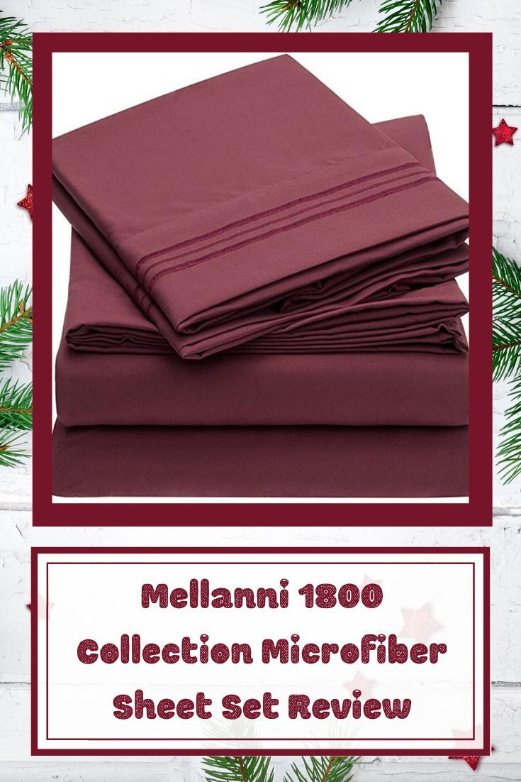 Mellanni 1800 Collection Microfiber Sheet Set Review Hollybee Tells Sheet Sets Microfiber Holiday Gift Guide