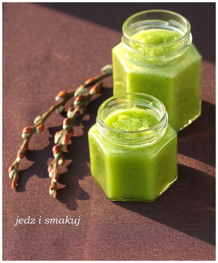 jedz i smakuj: Zielony antycelulitowy koktajl
