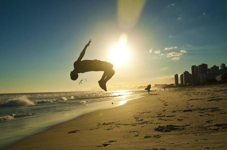 Capoeira, Barra da Tijuca, Rio de Janeiro, Brazil.