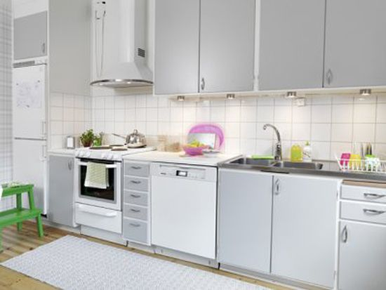 Gray cabinets | Kitchen Remodel Ideas | Pinterest
