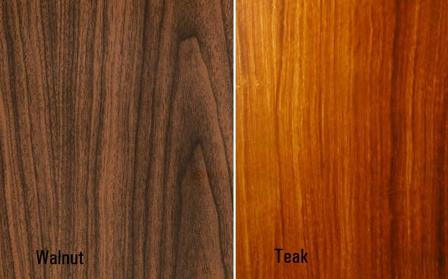 Teak Vs Walnut Mcm Pinterest Teak
