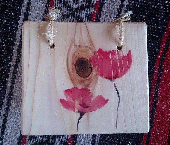 Poppy Keepsake Box by theLambandtheBear on Etsy
