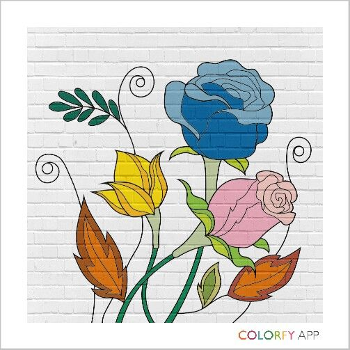 Color your day. Color your life #loveart #editedmyself #lovecolorfyapp
