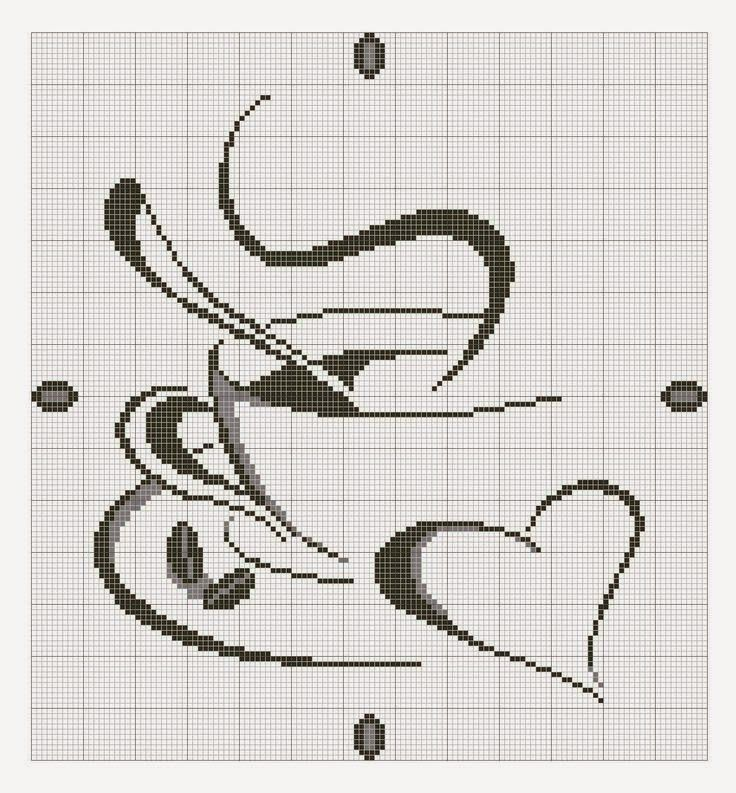 DIY and Crafts for Your Creative Mind: Love Coffee free cross stitch pattern. https://www.etsy.com/shop/InstantCrossStitch