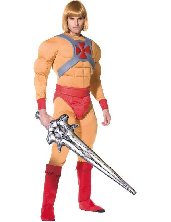 Official He-Man Super Hero Costume