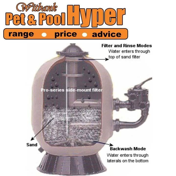 Pet & Pool Hyper Witbank Swimming pool tip: Backwashing sand filters too often. If you do this, the filter can never reach its cleaning potential. If you backwash on a regular basis for no reason, you are wasting water. Most filters require backwashing when the pressure gauge rises 68kpa from clean. #swimmingpool