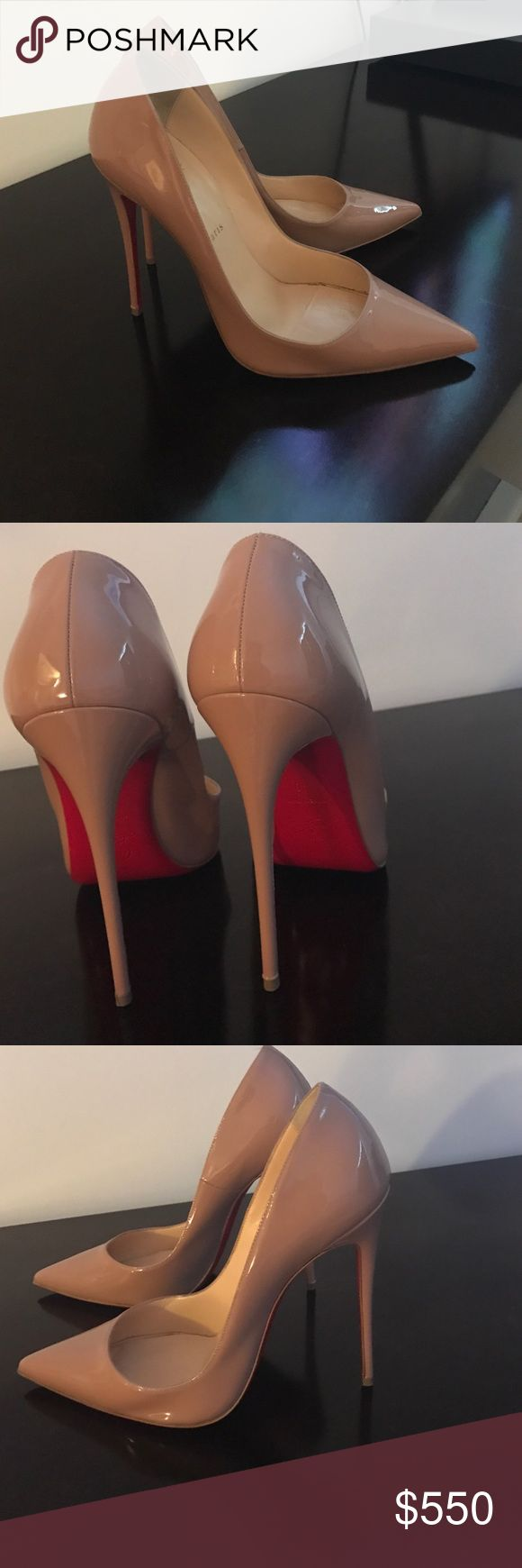 Christian Louboutin so Kate Worn one time for 2 hours, size 40 Christian Louboutin Shoes Heels