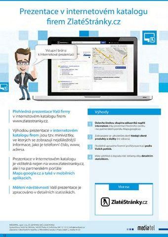 Hlavní devizou internetového katalogu Zlatestranky.cz jsou tzv. minivizitky jednotlivých firem. V nich se uživateli zobrazí nejdůležitější informace jako je telefonní číslo, případně adresa na vyhledávanou firmu, vše je jasné a přehledné. Katalog je přizpůsoben mobilnímu řešení. Při jeho použití na chytrém mobilním telefonu, případně na tabletu je minimalizován příjem dat. #Mediatelcz #Online #Vicezakazniku