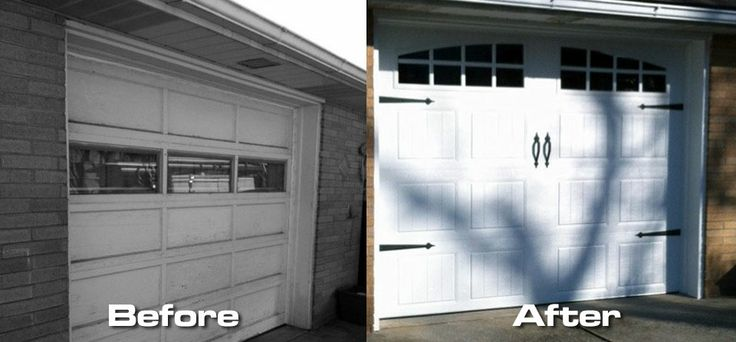 9′ x 7′ Clopay Gallery Series GD2SP – Before & After Garage Door Installation
