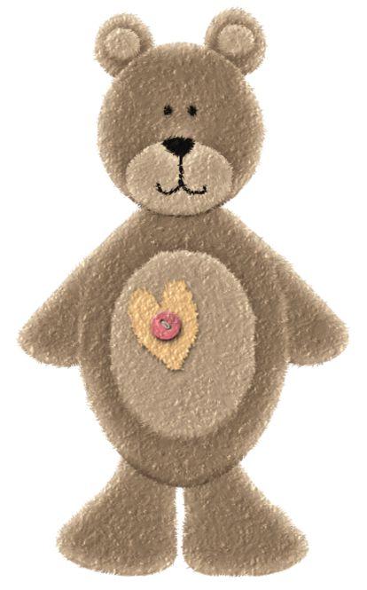 teddy bear clip art pinterest - photo #28
