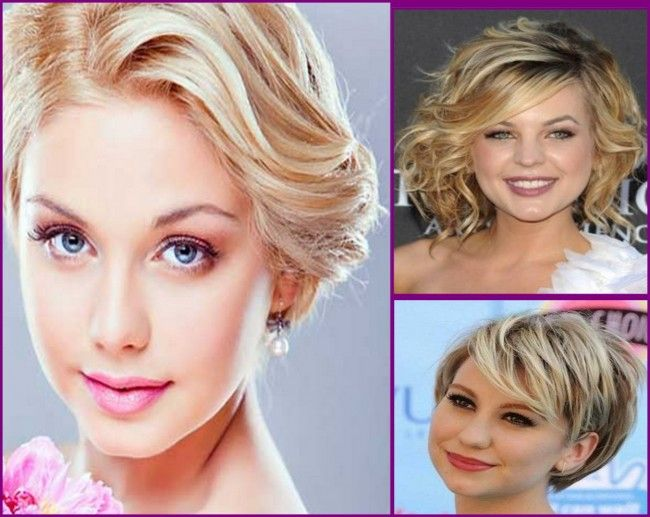 Hair Styles For Short Curly Hair Round Face: 17 Best Ideas About Hair Round Faces On Pinterest