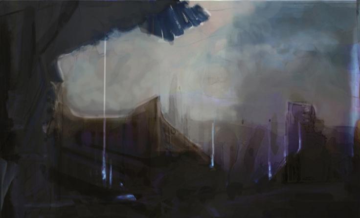 Conceptual painting - Photoshop