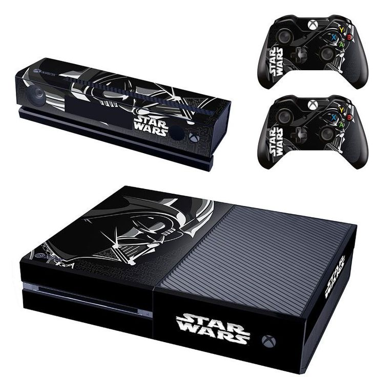 Star Wars Vinyl Cover Skin Sticker For Xbox one & Kinect & 2 controller skins