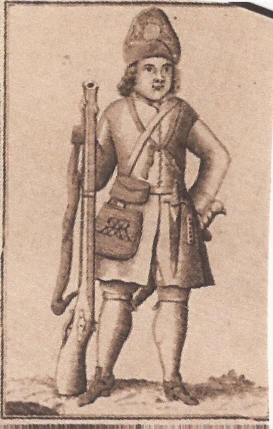 English grenadier 1706