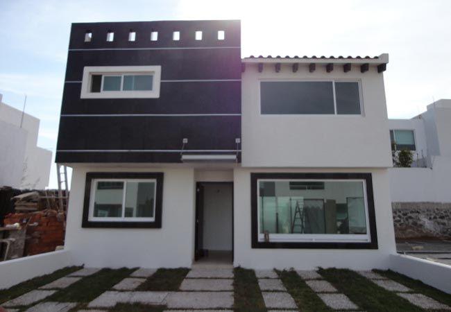 Fachadas de casas modernas de dos pisos ev i in fikirler for Casas modernas pequenas de dos plantas