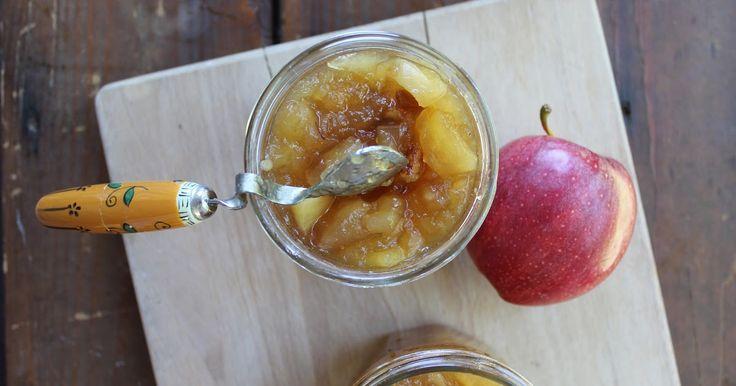 ricotta...che passione: Conserva di mele al profumo di strudel