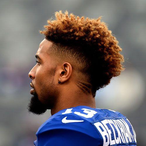 Odell Beckham Jr. Haircut - Taper Fade with Mohawk