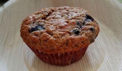 Huvilaelämää ja mökkiruokaa: Mustikka-myslimuffinit aamupalalle