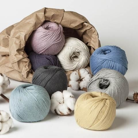 Erika Knight Gossypium Cotton Please select - DK Knitting Yarn - Erika Knight
