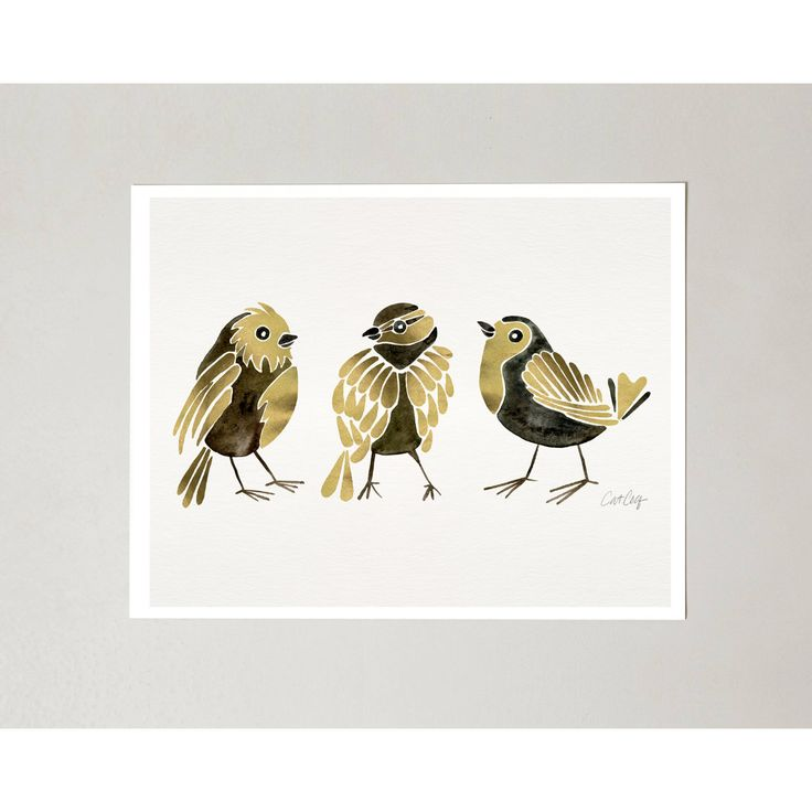 PRODUCTS :: LIVING AND DESIGN :: Accessories and Decorations :: Prints :: Finches