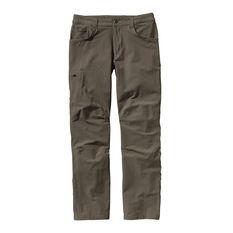Patagonia - Quandary Pants Alpha Green Long (Tiro Largo) Hombre