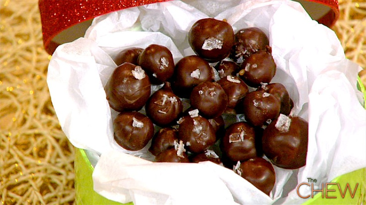 Carla Hall's Butterscotch Truffles #thechew