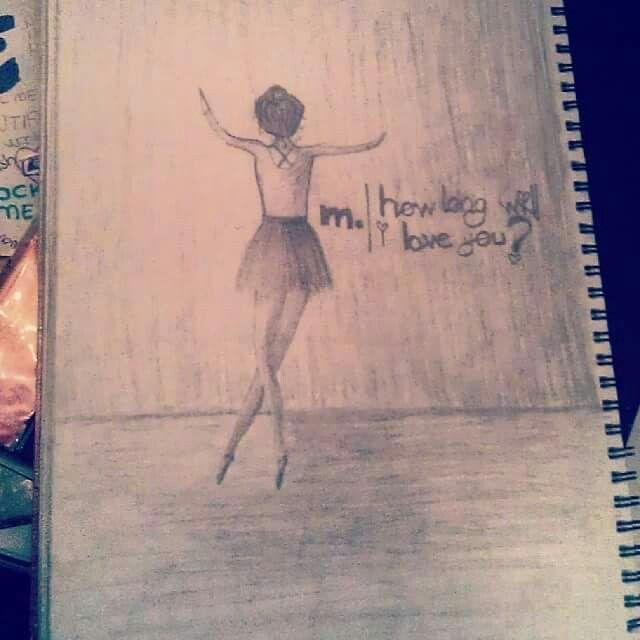 #drawing #balerin