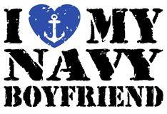 I love my Navy boyfriend ❤ NavyMomShirts.com