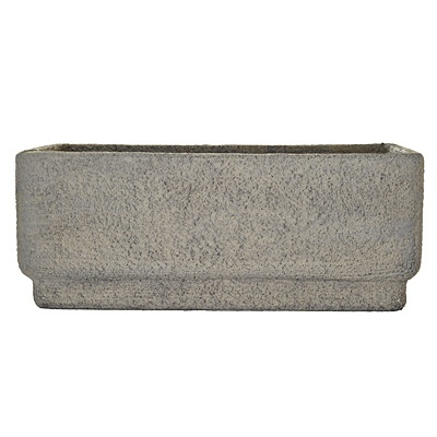 Antique Grey Rectangle Planter     was $59.99 now $29.99