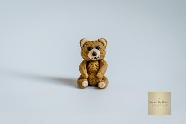 A Tiny Teddy Bear by #SweetsBySharm SweetsBySharm.com