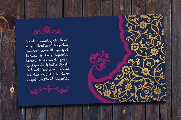 Arabic Template by Azat1976 on @creativemarket