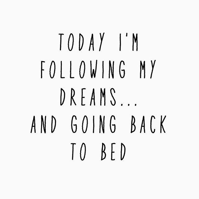 We're always chasing our dreams. #onebed#onebedsleep#mondayfeels#backtosleep#mattress#bed#bedinabox#sleep#quote#qotd#dreams
