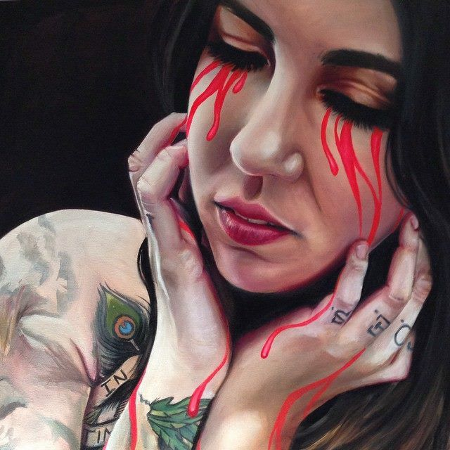 #‎beautifulbizarre‬ presents our 'ARTIST ON THE RISE' spotlight: Vic Hollins! 