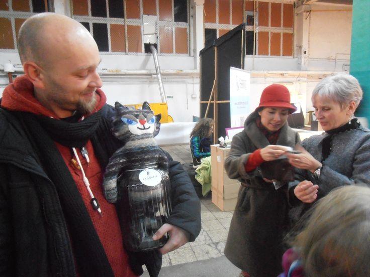 Happy 100palców's customers at Przetwory (Preserves - International Recycling Festival) in Warsaw (14 - 15.12.2013)